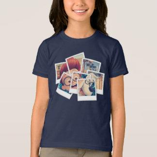 T-shirt M. Peabody et voyage Selfie de Sherman
