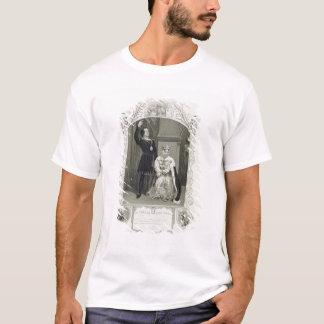 T-shirt M. Phelps comme Hamlet et Mlle Glyn comme Reine