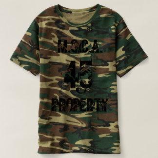 T-shirt M.S.C.A. Propriété 45 Cammo