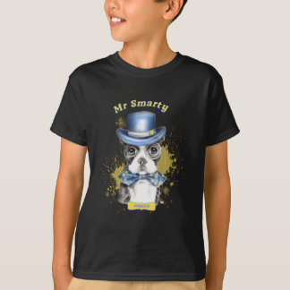 T-shirt M. Smarty Boston Terrier