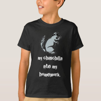 T-shirt Ma chemise de chinchilla