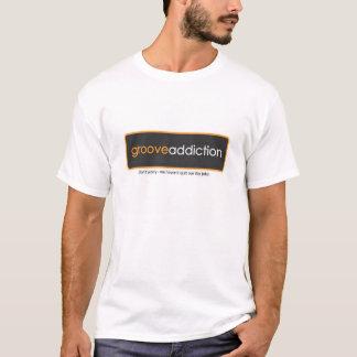 T-shirt Ma chemise de dépendance de cannelure