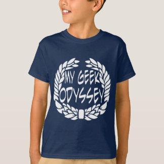 T-shirt Ma chemise de logo d'odyssée de geek