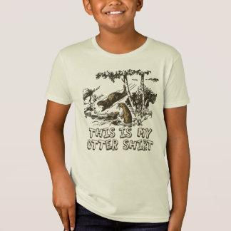 T-Shirt Ma chemise de loutre