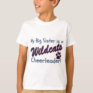 T-shirt Ma grande soeur est un pom-pom girl de chats
