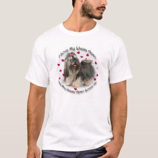 T-shirt Ma Lhasa Apso m'aime