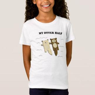 T-Shirt Ma loutre demi