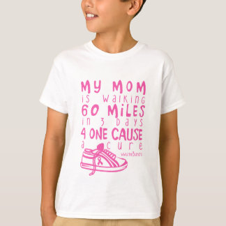 T-shirt Ma maman marche 60 milles