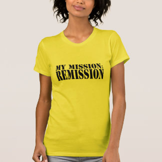 T-SHIRT MA MISSION : REMISE - CANCER