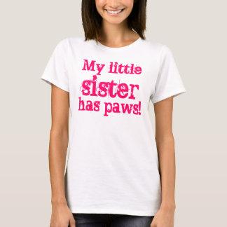 T-shirt Ma petite soeur a des pattes !