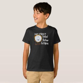 T-shirt Ma première pièce en t totale de l'éclipse solaire