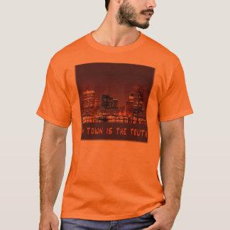 T-shirt Ma ville est la vérité