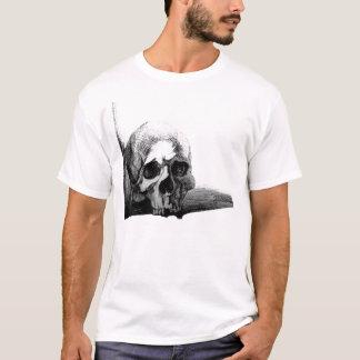 T-shirt macabre de crâne