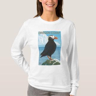 T-shirt Macareux tufté de côte de l'Orégon