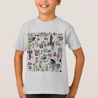 T-shirt Mâche- médiévale