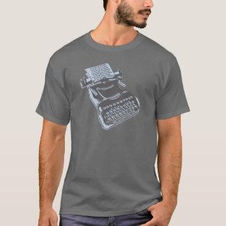 T-shirt Machine à écrire antique