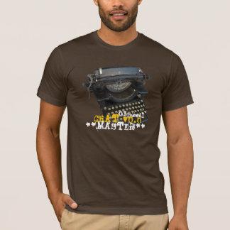 T-shirt Machine à écrire antique principale du