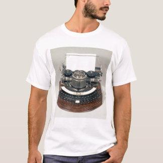 T-shirt Machine à écrire de Hammond, avec le clavier idéal