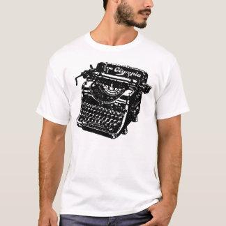 T-shirt Machine à écrire vintage d'Olympia