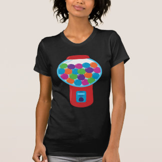 T-shirt Machine de Gumball de sucrerie