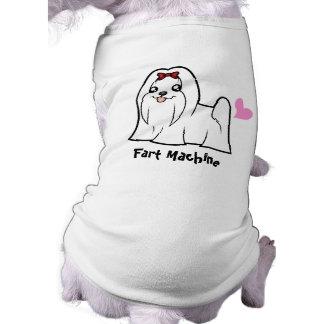 T-shirt Machine de pet (maltais coupés par exposition)