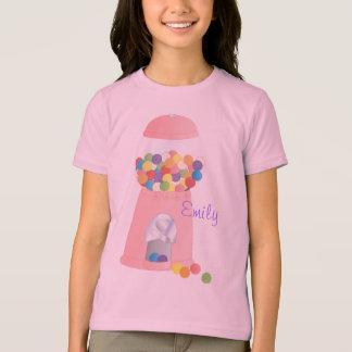 T-shirt Machine rose de Gumball