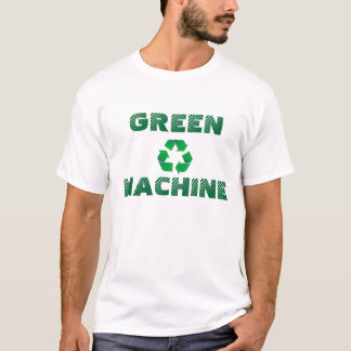 T-shirt Machine verte