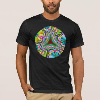 T-shirt mâchoire étrangère colorée psychédélique