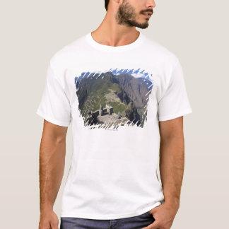 T-shirt Machu Picchu vu de la crête de Huayna Picchu,