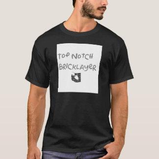 T-shirt Maçon supérieur d'entaille