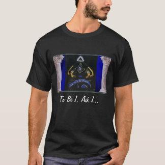 T-shirt maçonnique de slogan