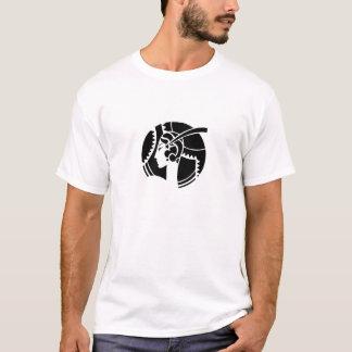 T-shirt Madame d'art déco