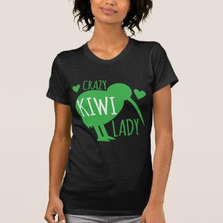 T-shirt Madame folle de kiwi