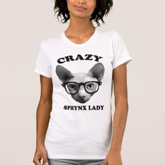 T-shirt Madame folle de Sphynx