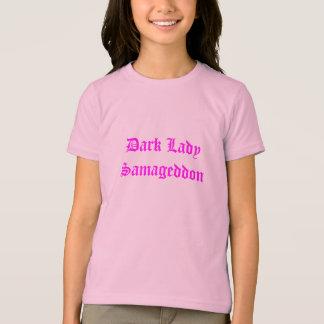 T-shirt Madame foncée