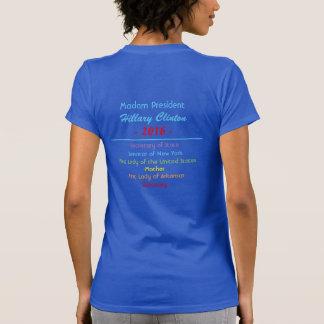 T-shirt Madame le Président le secrétaire de sénateur
