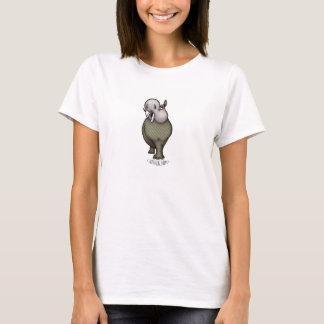 T-shirt Madame Vuitton d'hippopotame de passerelle