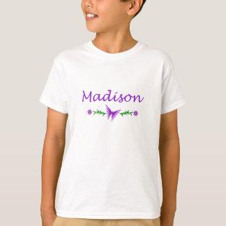 T-shirt Madison (papillon pourpre)