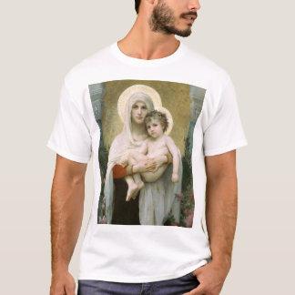 T-shirt Madonna des roses FONCÉS