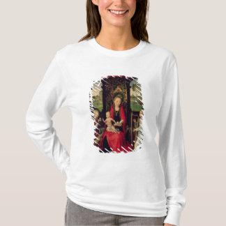 T-shirt Madonna et enfant avec deux anges