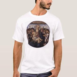 T-shirt Madonna et enfant avec huit anges
