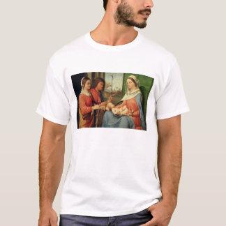 T-shirt Madonna et enfant avec les saints 2