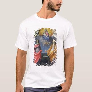 T-shirt Madonna et enfant avec St Lucy et Mary Magdalene