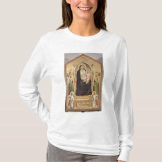 T-shirt Madonna et enfant couronnés, c.1300-03 (PRE-restor