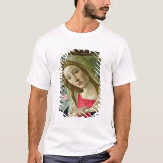 T-shirt Madonna et l'enfant ont couronné par les anges,