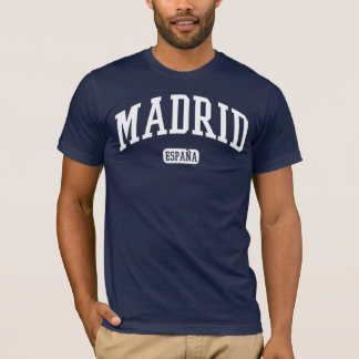 T-shirt Madrid Espana