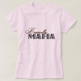 T-shirt Mafia de brune