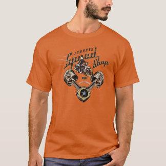 T-shirt Magasin 6 de vitesse de Johnnys