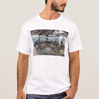 T-shirt Magasin de Seigler Hot Springs, bureau de poste