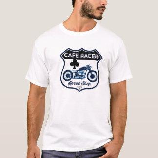 T-shirt Magasin de vitesse de coureur de café